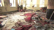 گروه داعش مسئولیت حمله انتحاری به مسجد شیعیان  کابل را برعهده گرفت