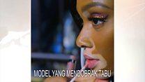 Model perempuan yang mendobrak tabu