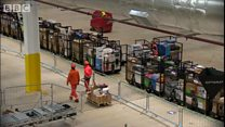Inside one of Amazon's biggest distribution centres