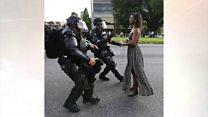 Mwanamke mweusi aliyekabili polisi Marekani