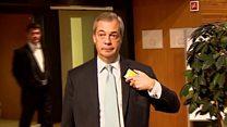 Farage 'flattered' by Trump tweet