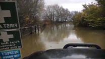 Floods remain after heavy rain