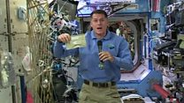 How to eat Thanksgiving meal in space