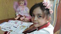 7 yaşındaki Halepli kız savaşı Twitter'dan anlatıyor