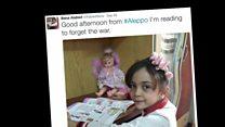 เด็กหญิงวัย 7 ขวบทวีตเล่าชีวิตกลางสงครามจากอเลปโป