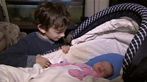 Boy, 8, delivers baby sister