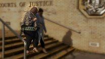 Fraudster dodges questions leaving court
