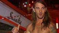 Brisbane man: 'I was in me jocks'