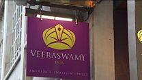 भारतीय रेस्तरां को सम्मान