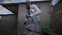'I make my clothes out of paper'