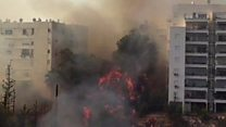 Fires prompt Israel evacuations