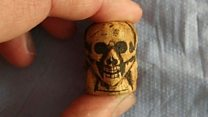 Cathedral dig unearths 500-year-old rosary bead