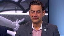 Abuse victims praise ex-footballer's courage