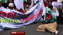 Solidaritas untuk Rohingya dari Indonesia, pengunjuk rasa temui dubes Myanmar