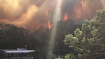 ТВ-новости: горящие леса Израиля