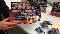 Transformers toys sell for thousands at auction