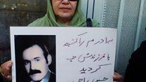 راحله راحمیپور در جستجوی بستگانش در زندان اوین