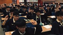 GCSE maths 'easy' for South Koreans