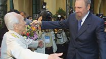 Tư liệu: Fidel Castro lần cuối gặp Tướng Giáp