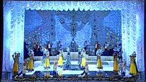 بازگشت گروه رقص زیبا به تاجیکستان