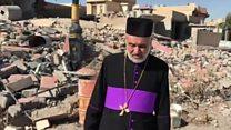 الكنيسة السريانية في قرية بحزاني العراقية تفتتح أبوابها من جديد