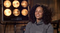 Alicia Keys on make-up, sexism and Trump