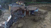 Руйнування через зсуви в Італії