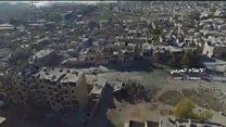 Doğu Halep'te ordunun eline geçen bölgeler