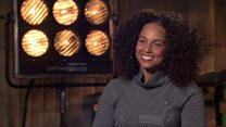 Alicia Keys talks to BBC 100 Women about race, make-up and bringing up boys