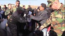 فرار هزاران غیرنظامی از شرق حلب به مناطق تحت کنترل دولت