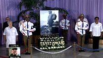 مراسم یادبود فیدل کاسترو از امروز در هاوانا شروع شده