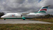 कोलबिंया में विमान दुर्घटना