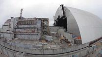 Реактор накрили саркофагом
