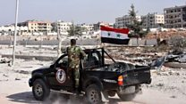 پیشروی نیروهای دولتی سوریه در شرق حلب