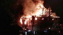 School dorm fire kills 12 in Turkey