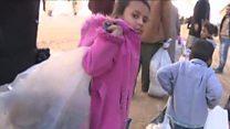 UN alarm as thousands flee Aleppo fight