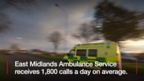 Ambulances used 'like GP service'