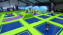 Call for trampoline park safety rules