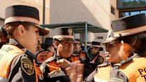 मेक्सिको में महिला पुलिस अधिकारी