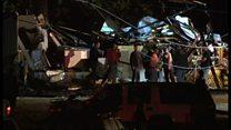 Разрушительные торнадо терзают Алабаму