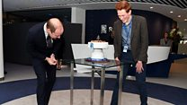 Prince William visits Derby