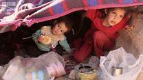 このままでは死んでしまう――砂漠に逃げたイラク難民