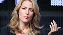 Gillian Anderson: 'Slavery a $150bn business'