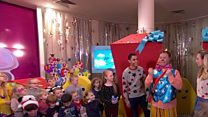 Alder Hey Children's Hospital in Liverpool had some very special guests