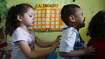 'Creche zen' usa ioga, massagem e comida natural para acolher crianças na periferia de São Paulo