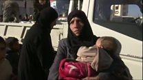 シリア・アレッポから1万6000人避難 政府軍攻勢受け