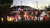 Couple's lights raise £29k for charity