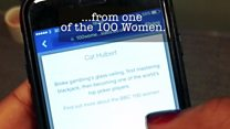 How to use the 100 Women match app