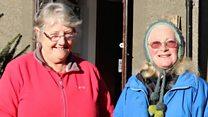 Elaine Lewis a Delyth Morris-Jones