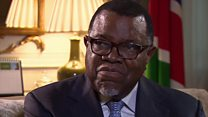 Namibia president: Castro 'came to free us'
